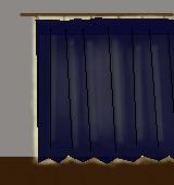 遮光カーテン(遮光2級)イラスト