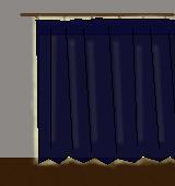 遮光カーテン(遮光1級)イラスト