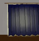 遮光カーテン(遮光3級)イラスト